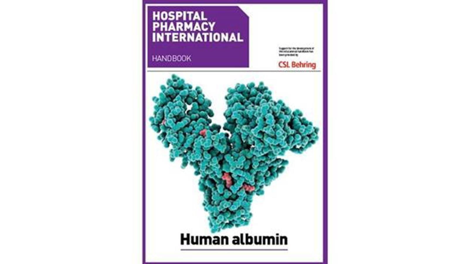Albumin guide front cover