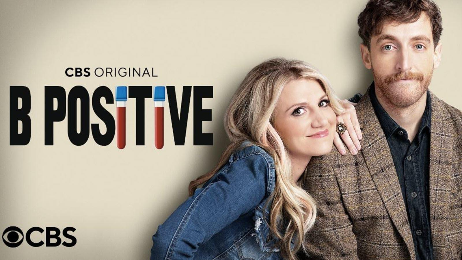 Photo of actors in the CBS show B Positive about organ donation