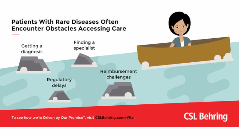 CSL Behring Access to Care infographic