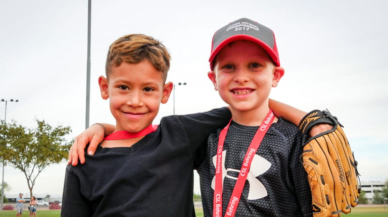 Two participants at CSL Behring's annual Junior National Championship event in Phoenix.