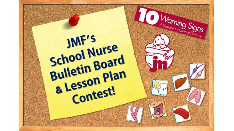 Graphic promoting Jeffrey Modell Foundation contest.