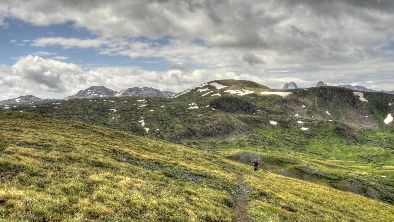 path along the Continental Divide trail