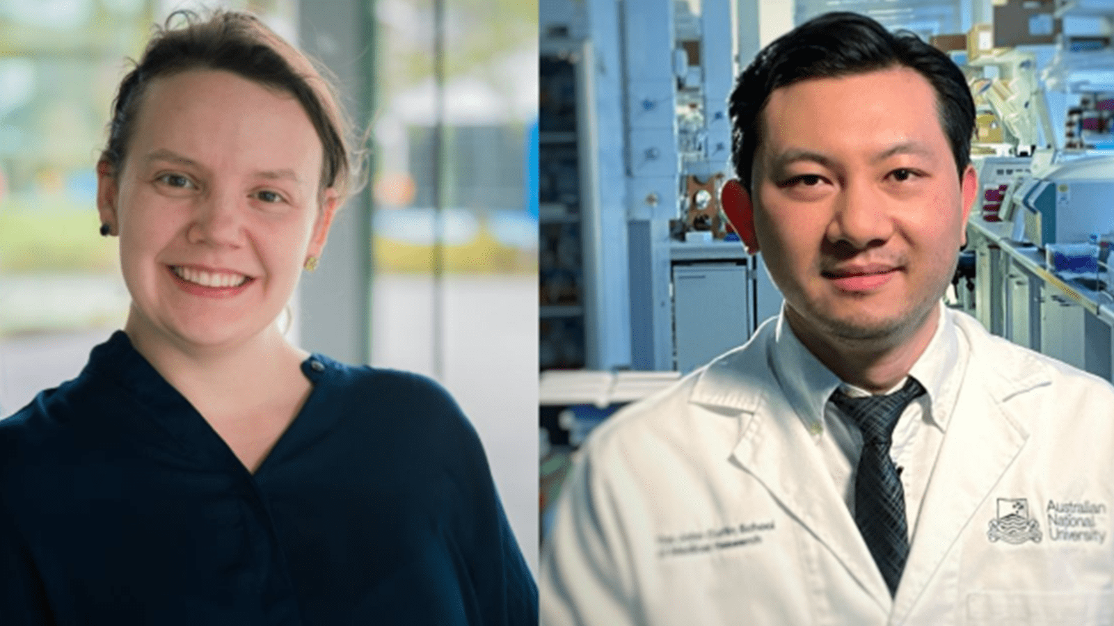 CSL Centenary Fellows Dr. Alisa Glukhova and Professor Si Ming Man