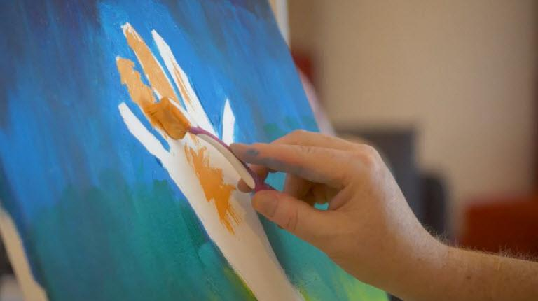 Darryl uses art therapy to reflect on his CIDP diagnosis