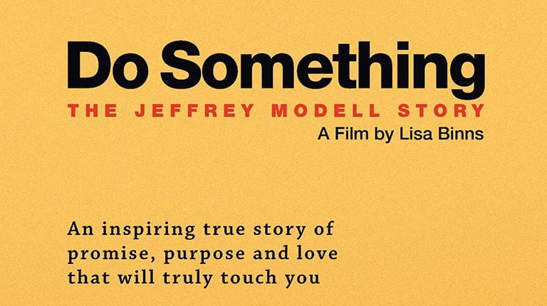 "Movie poster for ""Do Something: The Jeffrey Modell Story"""