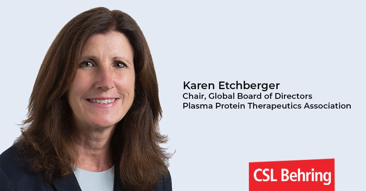 Karen Etchberger Chair Global Board of Directors PPTA