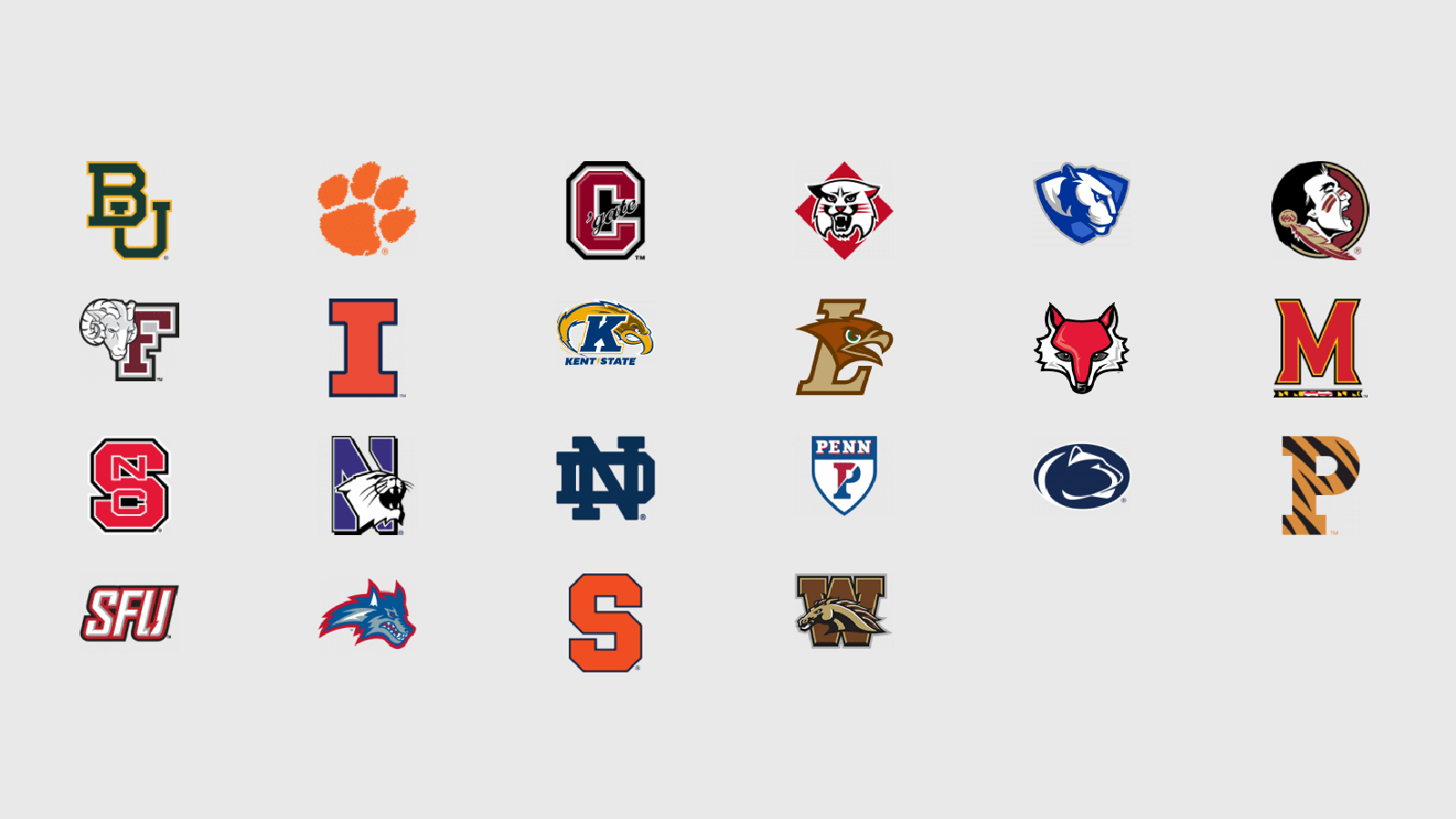 logos college chapters of Uplifting Athletes