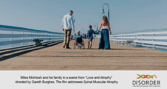 """Production still from """"Love and Atrophy."""""""