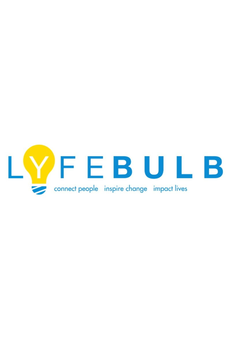 yellow light bulb logo for the Lyfebulb platform for patients