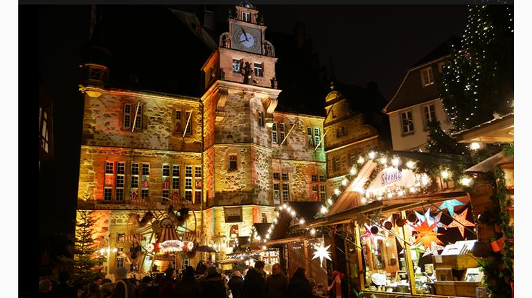 One of Marburg, Germany's two Christmas markets. Marburg is also home to one of CSL Behring's leading-edge manufacturing sites.
