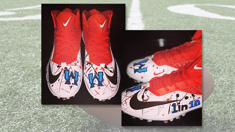 My cause my cleats NFL