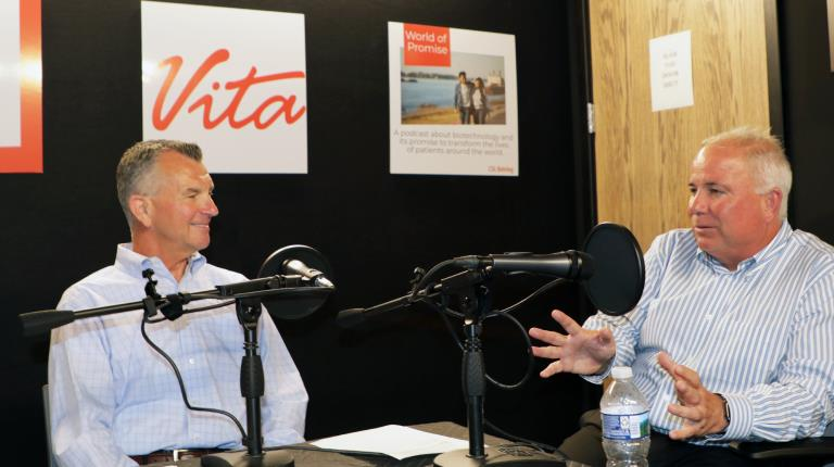 CSL Chief Operating Officer Paul McKenzie during a podcast interview