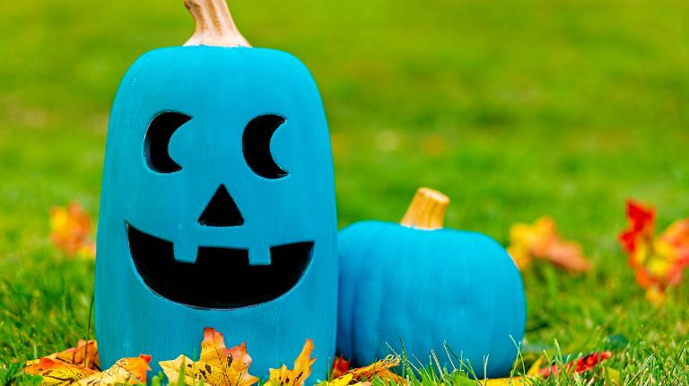 Teal pumpkins have become a symbol for trick-or-treaters with food allergies