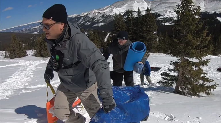 CSL Behring employees take part in team building event on Colorado's Rocky Mountains