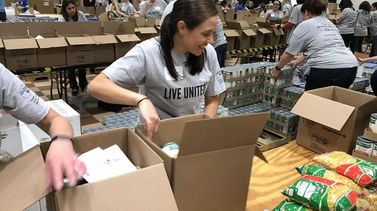 United2Feed Food Packing Event in King of Prussia Image