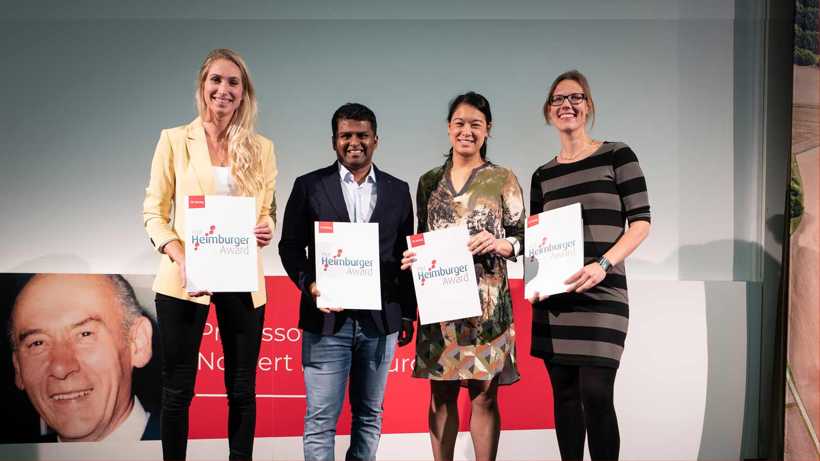 CSL Behring Heimburger Award Winners 2019