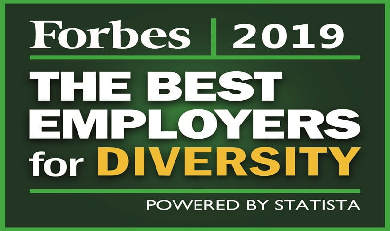 Forbes Best Employers for Diversity logo