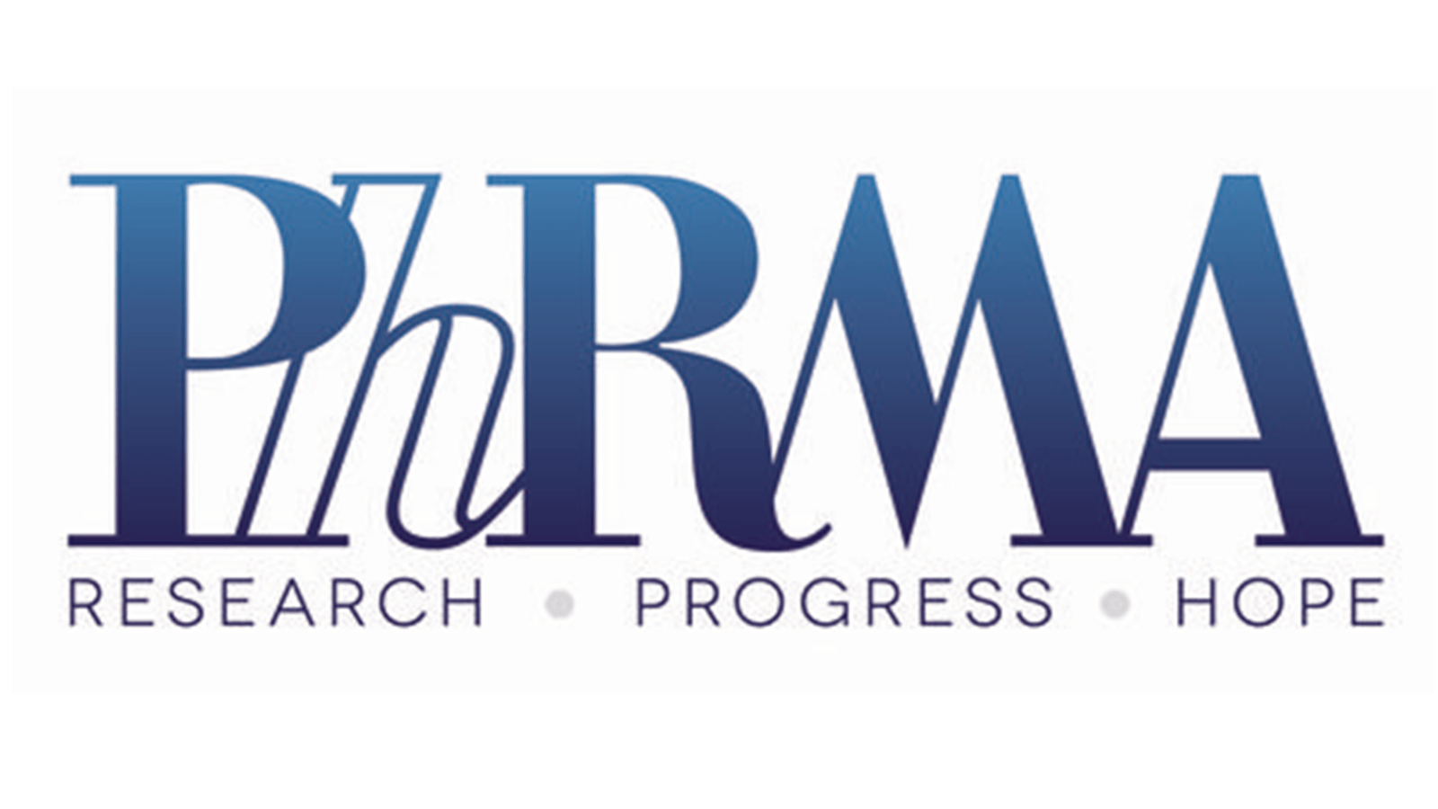 PhRMA Logo for the Pharmaceutical Research and Manufacturers of America