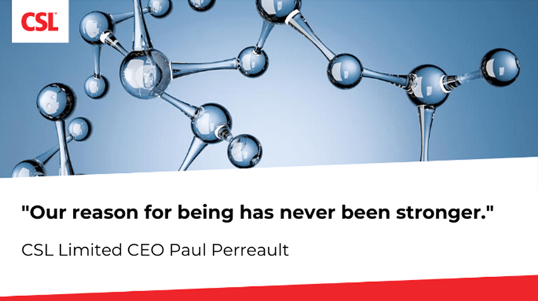 Paul Perreault says: Our reason for being has never been stronger.