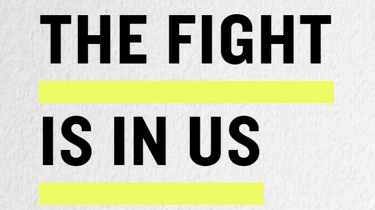 The Fight Is In Us campaign logo